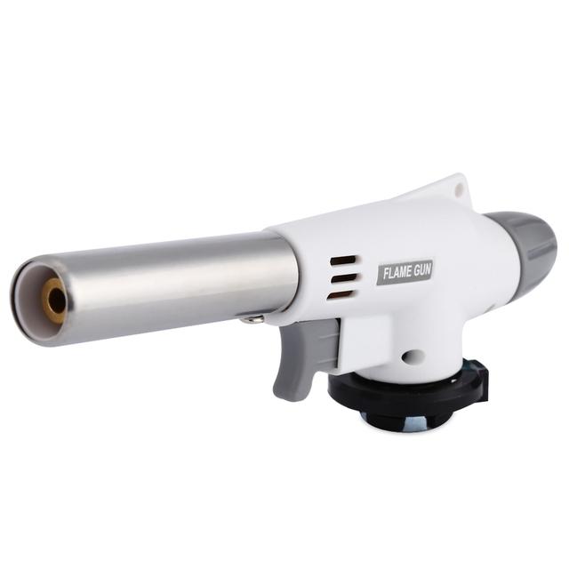 Heating Ignition Butane Portable Camping Welding Gas Torch For Outdoor BBQ920 Metal Flame Gun Welding Gas Torch Lighter