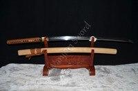 Japoński samurai sword katana glina hartowane 1095 stali full tang blade sharp może ciąć bambusy-żelaza tsuba hanbon wykonane hurtownie