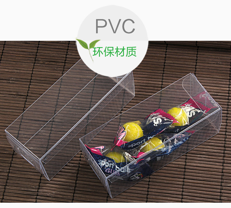 4 4H CM Transparent Waterproof PVC Clear Plastic Packaging Boxes Small Craft Gift Wedding Party Favor Transparent Package Box (8)
