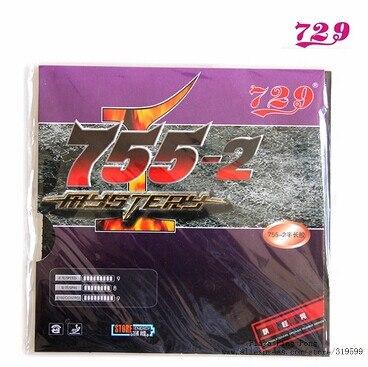 1x RITC 729 MYSTERY 755-2 טניס שולחן פיפס-אאוט - מחבטים