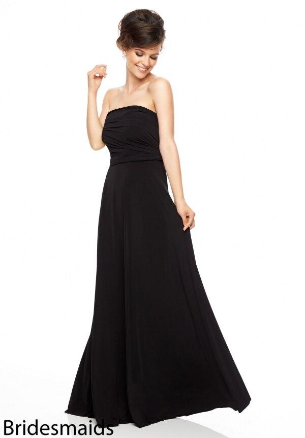 Popular Simple Black Bridesmaid Dresses-Buy Cheap Simple Black ...