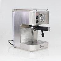 Gustino 19Bar полу автоматическая Кофеварка Эспрессо машина с пеной молока нержавеющая сталь 304 Корпус для дома или офиса с помощью