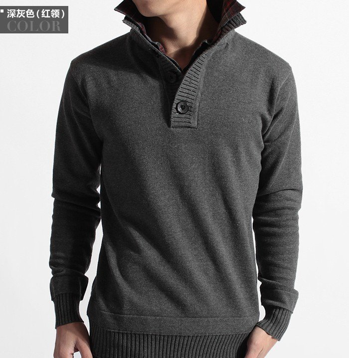 Men's Autumn New Arrival Sweaters ,cotton sweater men, Faux ...