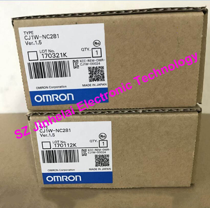 New and original OMRON PLC CJ1W-NC281 100% new and original cj1w od213 cj1w 0d213 omron plc output unit