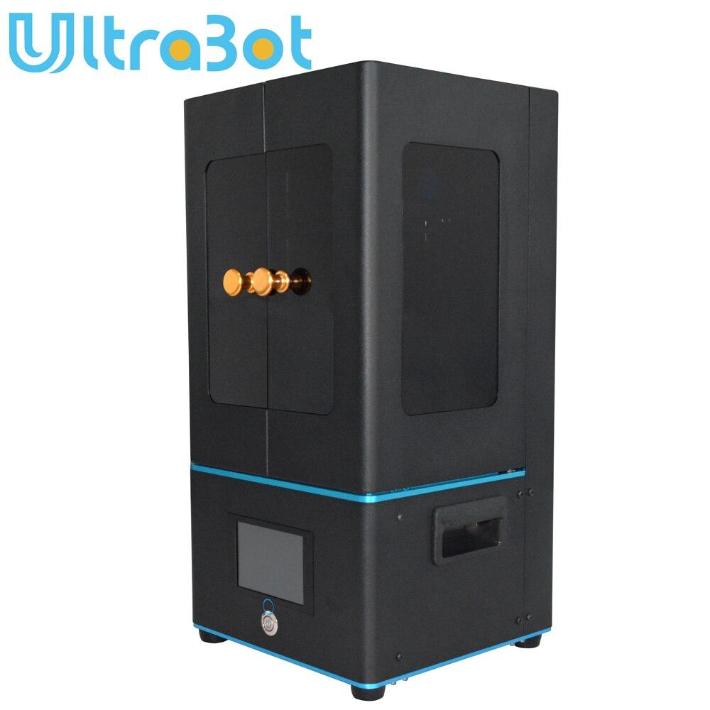 Tronxy Ultrabot 3d принтеры ЖК дисплей 3,5 ''сенсорный экран свет отверждения УФ SLA Фотон Slicer светочувствительная Смола 405nm матрица