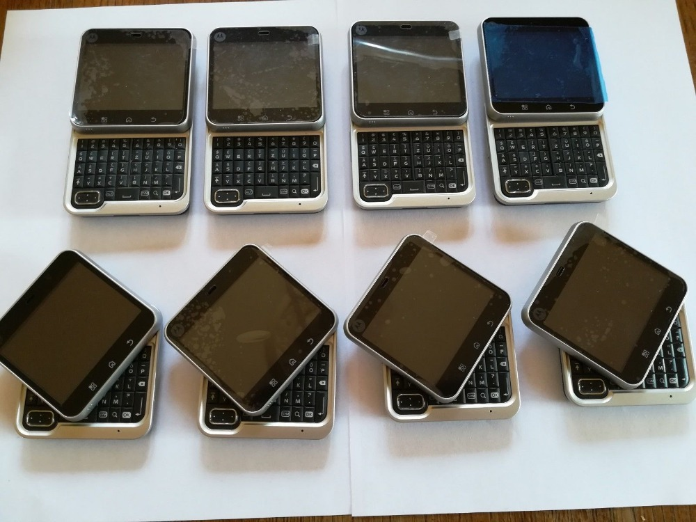 MB511 original Entsperrt Drehbare Motorola MB511 Android OS GPS WIFI 2,8 3.0MP GSM Handy Freies verschiffen - 5