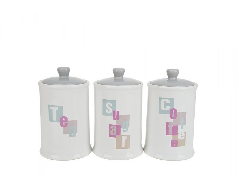Set jars bulk ENS, Letters, 3 item, gift packaging сандалии item black item black it004awqic39