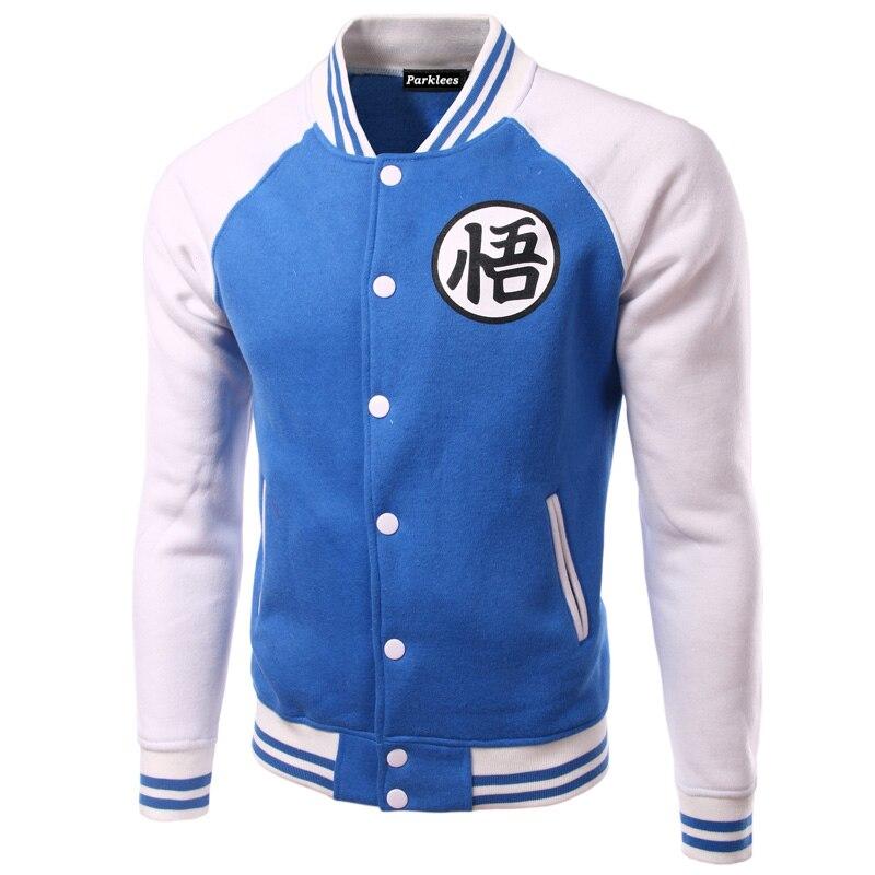 60ca5a5c4514 Brand Dragon Ball Baseball Jacket Men 2016 Mens Anime Comic Cosplay Varsity  Jackets Autumn Fleece Cotton Jacket Veste Homme Xxl-in Jackets from Men s  ...