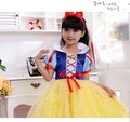 Cosplay Children Snow White Costumes Fancy Princess Dress New Year Halloween Christmas Costumes For Kids Girls Dresses 90-160cm