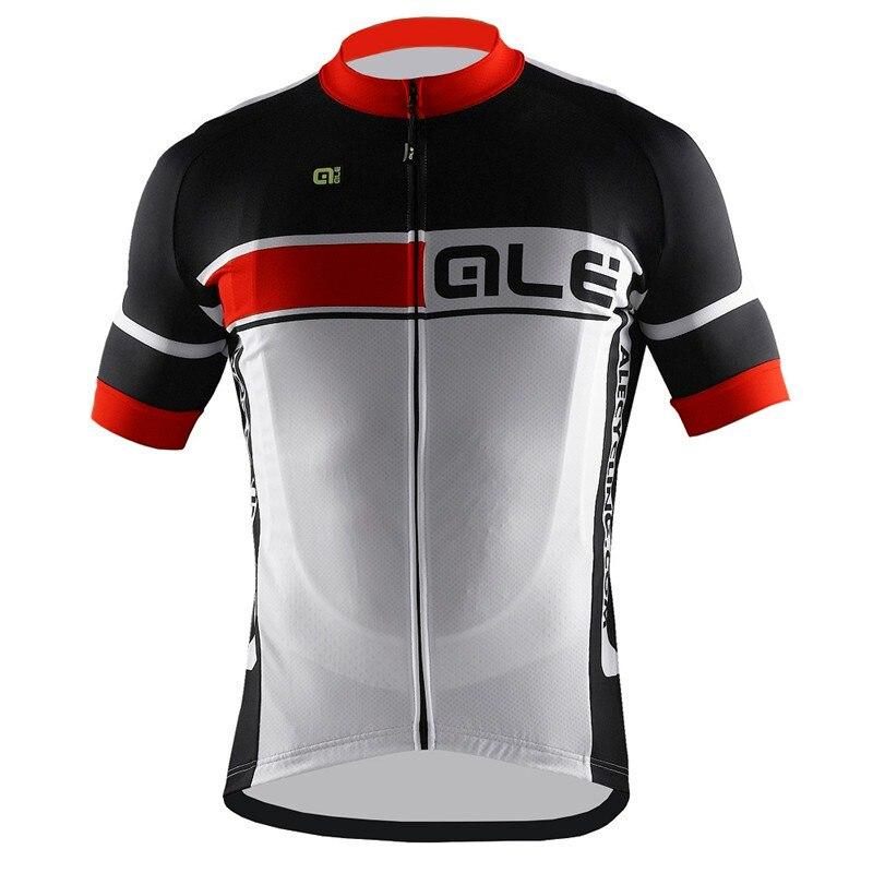Prix pour Été 2017 ale homme vtt vélo vélo vélo sport cyclisme clothing clothing court cyclisme manches jersey