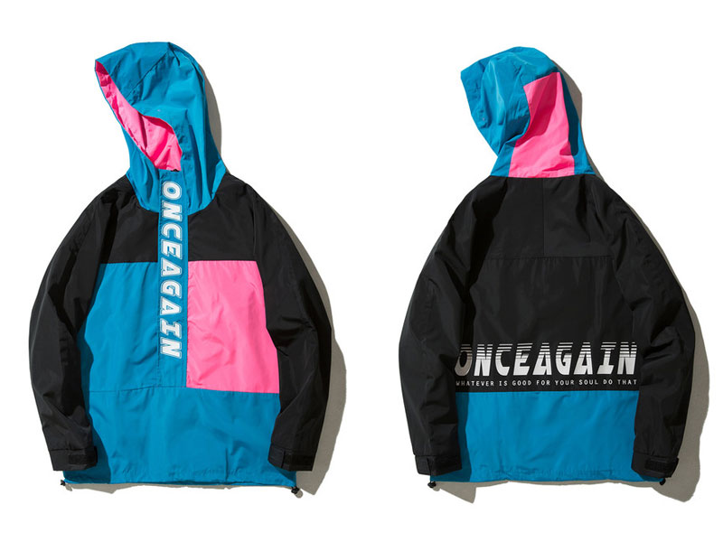 Vintage Color Block Zip Up Track Jacket 4