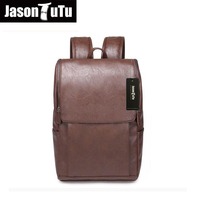 Men Canvas Backpack Large Size Student 14 Inch Laptop Backpack JASONTUTU Brand Design Good Quality Pu