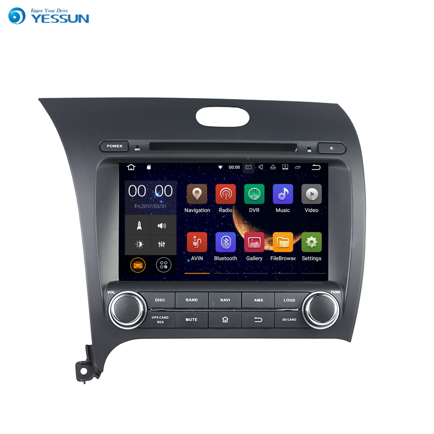 YESSUN 2 din Android Radio Car DVD Player For KIA CERATO / K3 / FORTE 2013 Stereo Radio Multimedia GPS Navigation With AM/FM