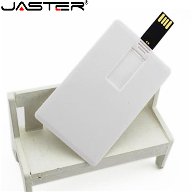 JASTER Custom Logo Print Photography Credit Card Usb 2.0 Stick Flash Drive 4gb 8gb 16gb 32gb Business Card (5pcs Free Logo)