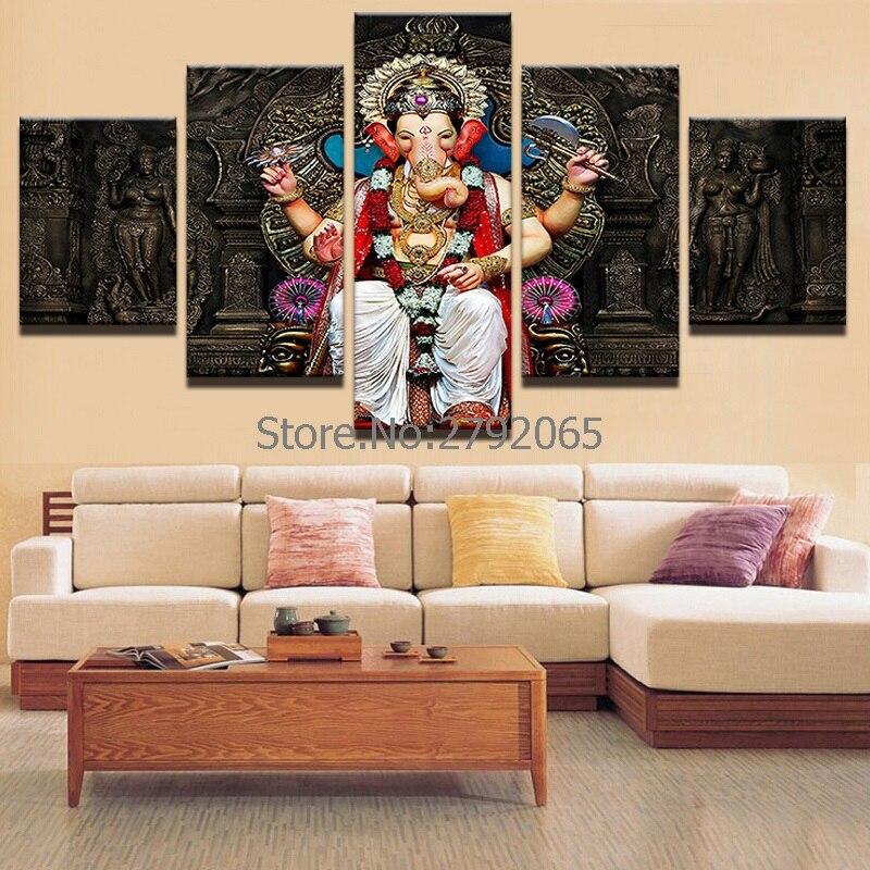Buddha Deko Wohnzimmer Asiatisches Ungesellig Auf