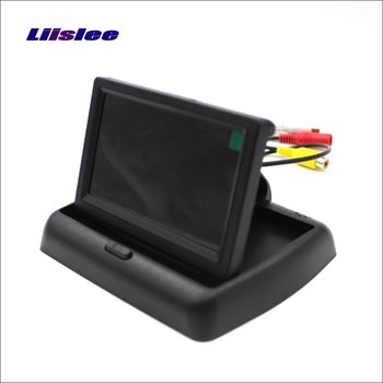 Liislee For Volkswagen VW Passat B7 Wagon Foldable Car HD TFT LCD Monitor Screen Display / NTSC PAL Color TV System image