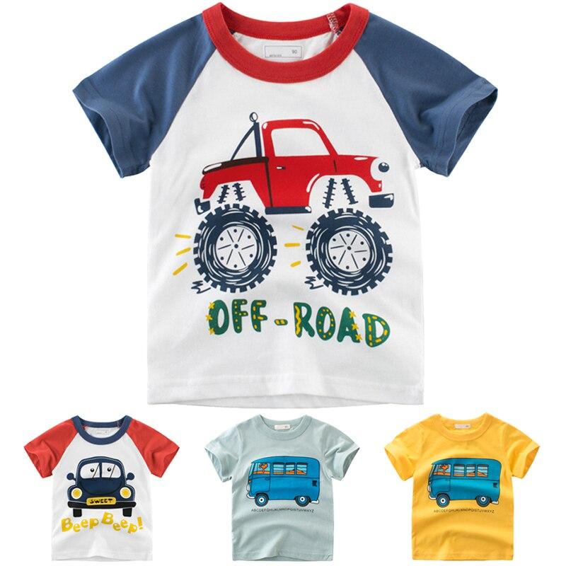 Jungen T Shirt Jungen T-shirts Kinder Tops Baby Boy Tshirt Sommer 2019 Mode Baumwolle Casual Baby T-shirt Top Kinder Kleidung 2-8 Jahre