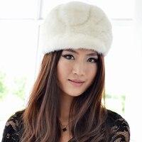 Fashion new High quality mink fedora hat,Elegant Ladies' mink fur hat,Intellectuality women's fur cap winter cap FCOL010