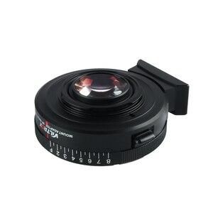 Image 4 - Viltrox NF M43X מוקד מפחית מהירות מאיץ מתאם טורבו w/צמצם עבור ניקון עדשת כדי M4/3 מצלמה GH4 GH5GK GH85GK GF7GK GX7