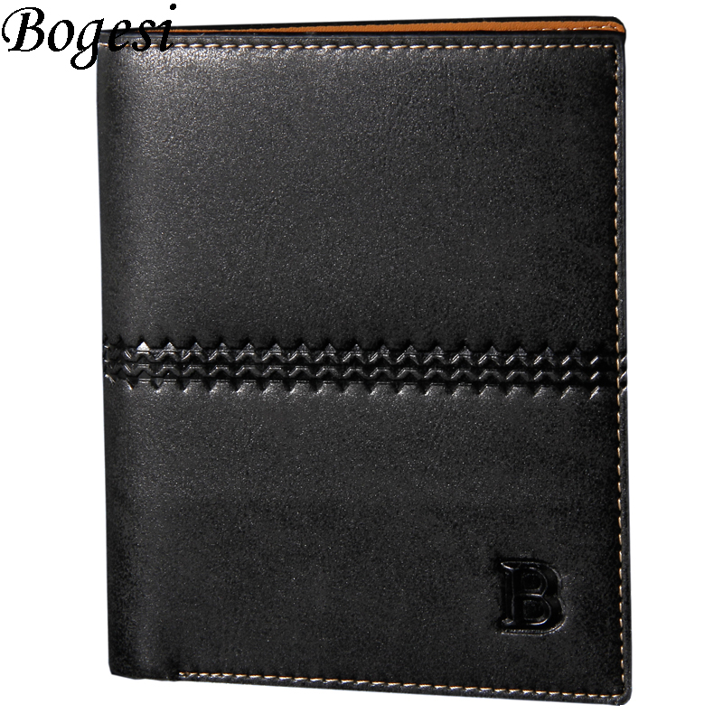 men wallets famous brand new 2016 mens wallet male money purses New classic  soild pattern designer Soft Card Case