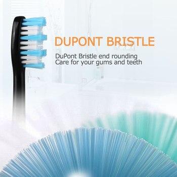 Сменные насадки для электрической зубной щетки Mornwell D01B, 4 шт. 3