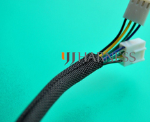 3/8  ID 10mm Flexo  woven wrap split braided sleeving cable  black free shipping