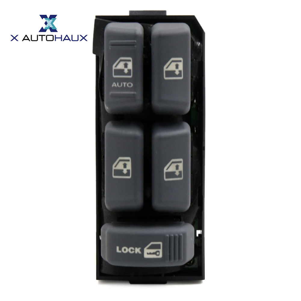 X AUTOHAUX 15151360 Electric Power Window Master Switch for Chevrolet Blazer Suburban For GMC Jimmy Sonoma For Cadillac Escalade