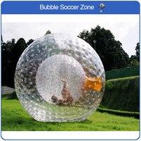 Бесплатная доставка Dia 2.5 м гигантские надувные ПВХ Траве Мяч Zorb Футбол надувной мяч Зорб для продажи