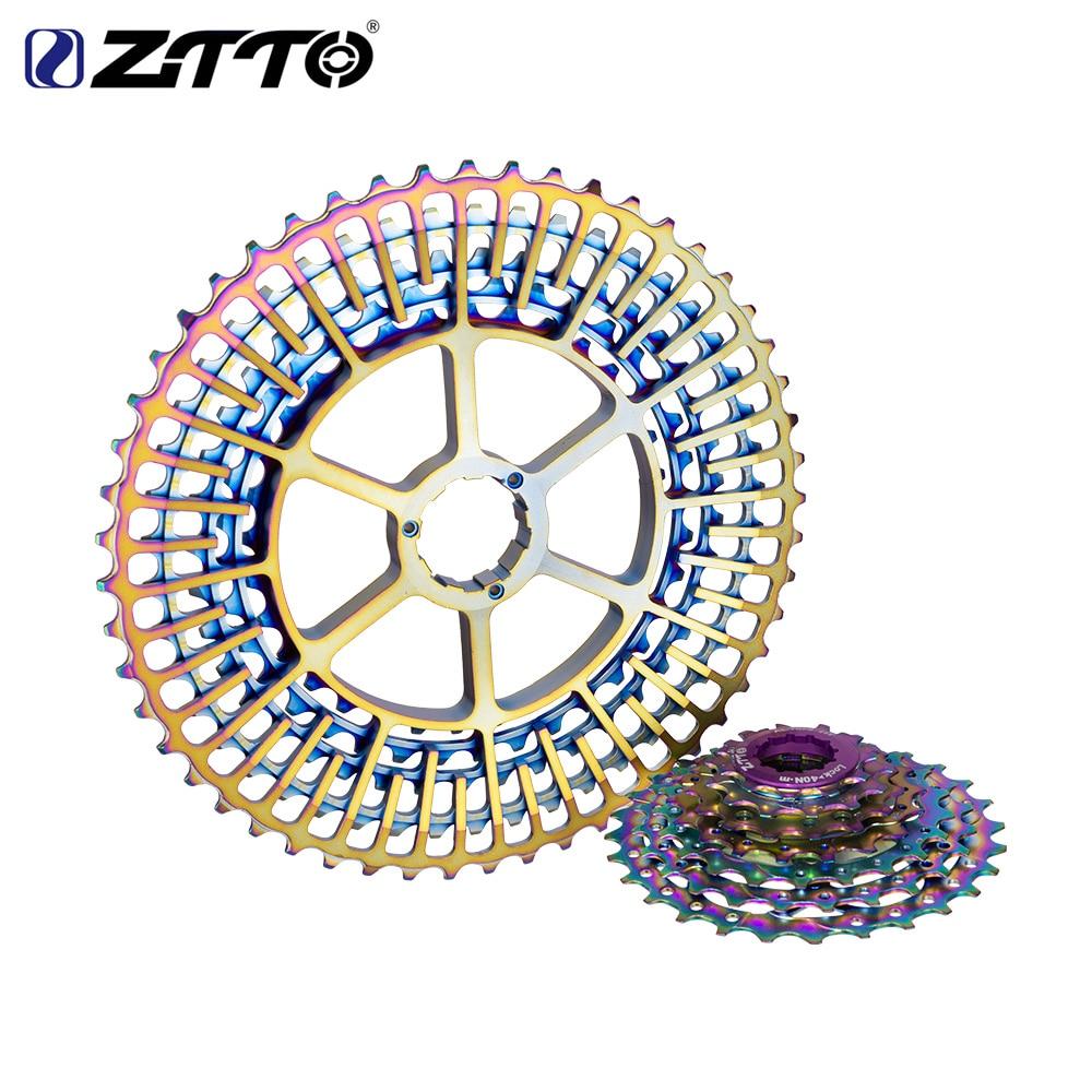 ZTTO-12-Speed-Rainbow-Cassette-11-52T-SLR2-12s-MTB-12Speed-UltraLight-K7-12V-413g-Freewheel2