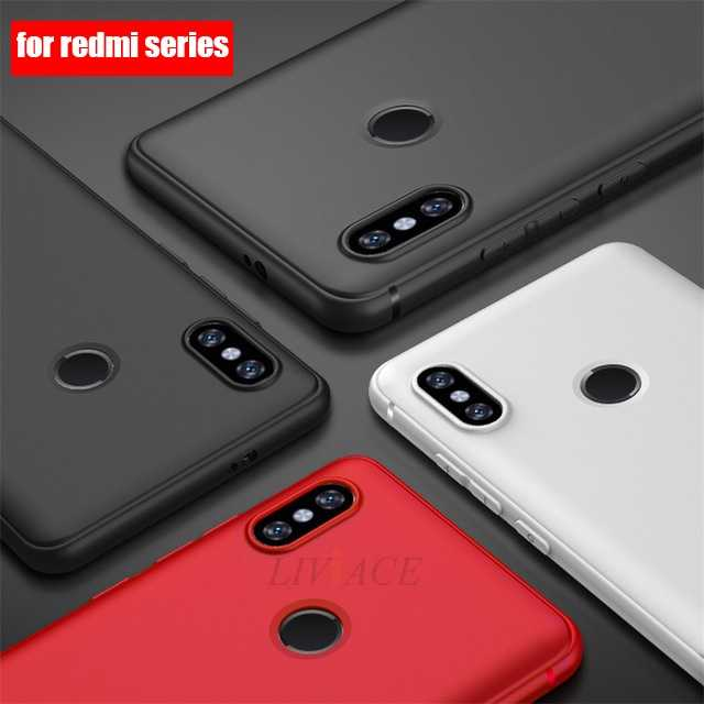 Frosted Ultra Tipis Lembut TPU Case untuk Xiaomi Redmi Note 7 6 PRO PLUS 4 4X 4A 5A Prime S2 6A Y2 Matte Silikon Kembali Menutupi Kasus
