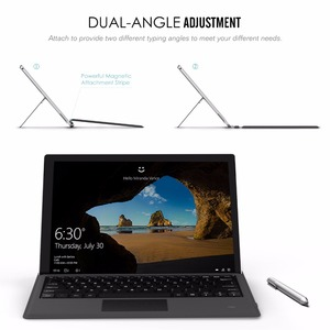 Image 5 - MoKo Type Cove for Surface Pro 7/ Pro 6 / Surface Pro 5 (Pro 2017),Lightweight Slim Wireless Bluetooth Keyboard with Two Button
