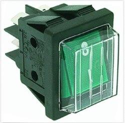 CIMBALI FAEMA PAVONI choroby afektywnej dwubiegunowej przełącznik zielony 16A 120 V 250 V w Części do ekspresu do kawy od AGD na