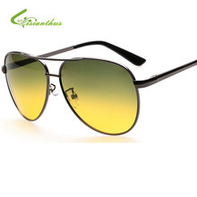 083a3088a81 2018 Top Quality Pilot Sunglasses Day And Night Vision Driving Polarized  Sun Glasses HD UV400 Multifunction Sport Male Glasses