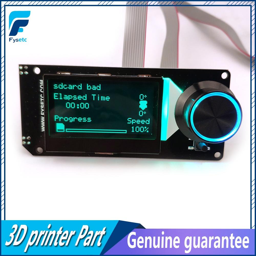 نوع B MINI12864LCD شاشة RGB الخلفية الأبيض صغيرة 12864 فولت 2.1 عرض دعم مارلين لتقوم بها بنفسك ل SKR مع SD بطاقة ثلاثية الأبعاد أجزاء الطابعة-في قطع غيار طابعة ثلاثية الأبعاد وملحقاتها من الكمبيوتر والمكتب على