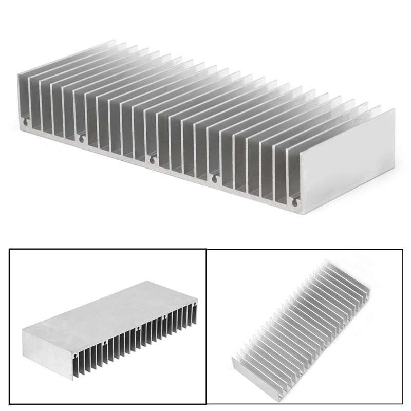 Radiator Aluminum Heatsink Extruded Profile Heat Sink For Electronic Chipset