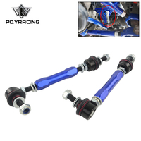 PQY 165mm 210mm Ball Joint Adjustable Sway Bar End Link Kit for TOYOTA LAND CRUISER PRADO 120 Series 2002 2010 PQY SEL07