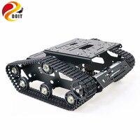 YP100 металлический гусеничный робот-танк с рамкой из алюминиевого сплава, Роботизированная рукоятка, интерфейс, отверстия для робота, проект...