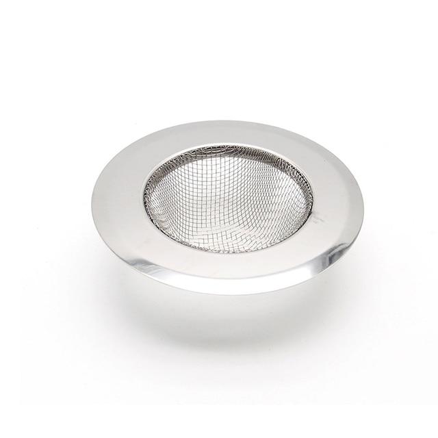 새로운 홈 주방 싱크 드레인 스트레이너 스테인레스 스틸 메쉬 식품 필터 포수