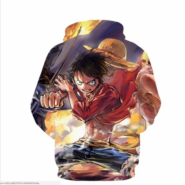 One Piece 3D Hoodies (3 Design)