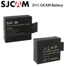 2 шт. оригинальный SJCAM бренд 3.7 В Li-Ion 900 мАч резервного копирования аккумуляторной батареи для SJCAM SJ4000 SJ5000 M10 серии Спорт камеры DV