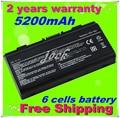 6 celdas 5200 mah reemplazo de la batería para asus x51h x51l x51r x51rl T12 T12C T12Er T12Fg T12Jg T12Mg T12Ug A32 X51 Envío gratis