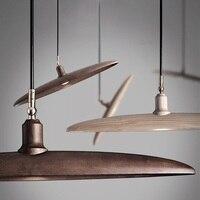 크리 에이 티브 나무 led 거실에 대 한 램프 매달려 북유럽 램프 현대 펜 던 트 전등 설비 침실 luminaire suspendu hanglampen