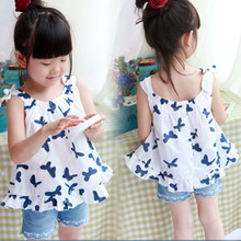 2016 new hot summer clothing baby dresses girl fashion clothes free shipping
