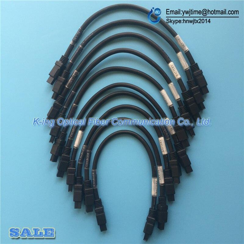 10PCS Original <font><b>Fujikura</b></font> FSM-60S/fsm60R/fsm18S/fsm18R Fusion Splicer charging cable BTR-8 Cable <font><b>Fujikura</b></font> <font><b>battery</b></font> charge DCC-14