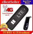 Разблокирована ZTE MF821 4 Г 3 Г 2 Г LTE USB Dongle USB Stick Мобильного Широкополосного Модема