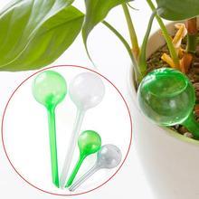 3 шт. автоматическое устройство орошения комнатных растений лампа глобус дом садовый водяной Высококачественный ПВХ автополив для растений S/L 4 цвета