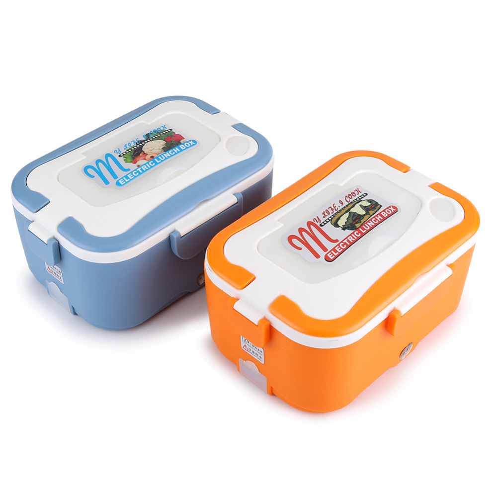 1 5l portable lunch box 12v 24v car electric heating lunch for 1 box auto