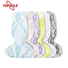 TOPSOLE 1 pair of insoles non-slip female gel arch support massage tibial pad orthopedic insole high heel pad lace pad H1011