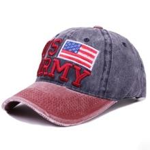 0271fe6da8f47 MAERSHEI 100% Cotton Baseball Caps US ARMY Dad Hat Cap High Quality  Embroidery Man Women