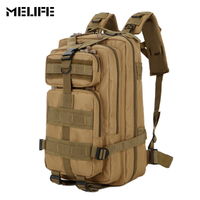 MELIFE Oxford Military Tactical Army Assault Pack Backpack Waterproof Molle 3P Outdoor Hiking Camping Fishing Hunting